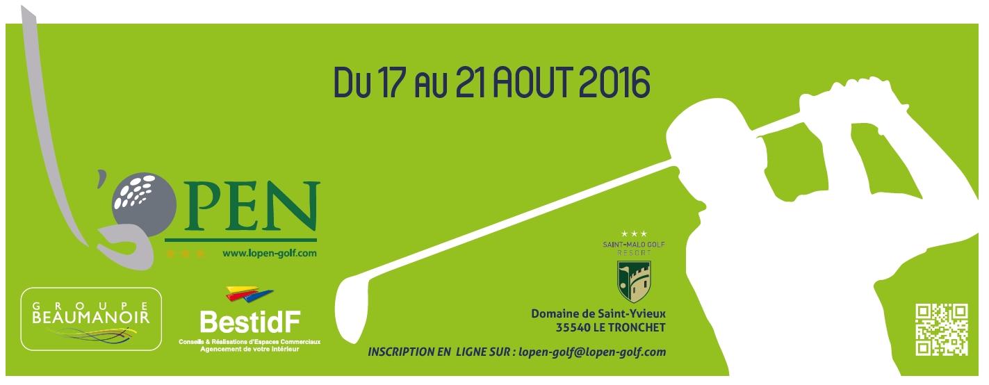 Affiche Open 2016